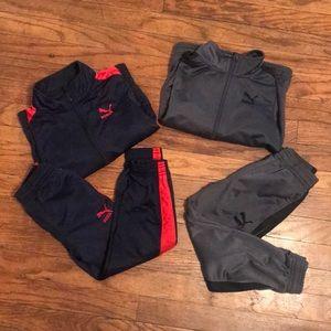 Puma Jacket and & Pants set size 5T